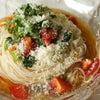 お昼ごはん☆トマトのイタリアン風ぶっかけそうめん♪の画像