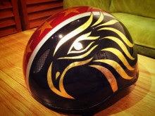 武田選手ヘルメット 2015 05