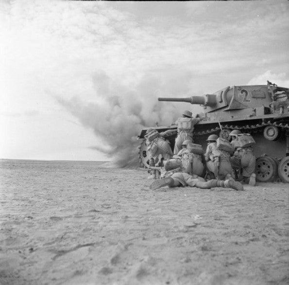 第一次エル・アラメインの戦い   戦車兵のブログ