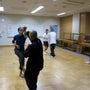 東京の一修会の練習に…