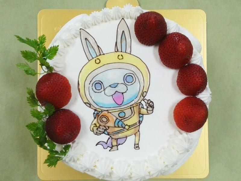 イラストキャラクターケーキ妖怪ウォッチです 岐阜市の洋菓子