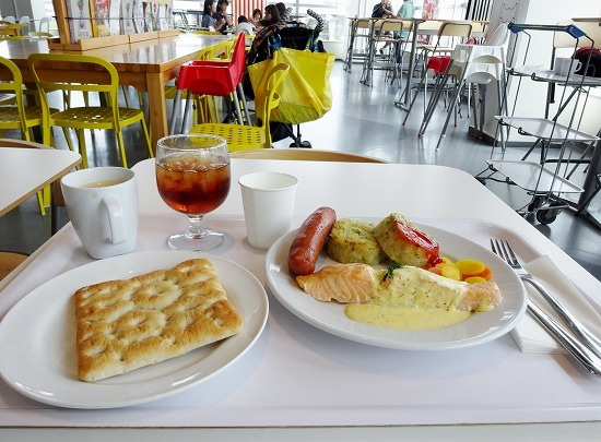ikea de lunch