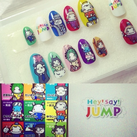 Hey!Say!Jump nail