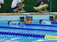 水泳大会。