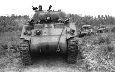 戦車のブロググアムの戦い  日本軍総攻撃
