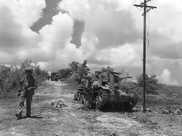 グアムの戦い 米軍上陸 | 戦車のブログ