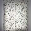 呉市 海外刺繍 植物デザイン生地カーテン『リット』 プレーンシェード☆の画像
