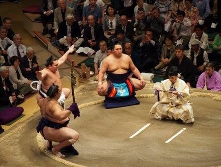 大相撲初観戦! 平成27年5月場所...