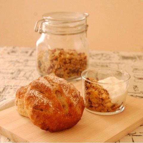【募集中】9月11日 オートミールたーっぷりくるみパンと手作りグラノーラ!の記事より