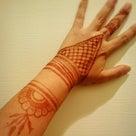 柏 ヘナタトゥー指先から腕にかけて 千葉 消えるタトゥーだよ 料金 時間 アクセサリー 夏休みの記事より