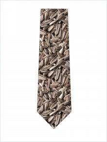 ひまわりの種ネクタイ