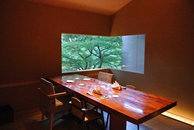 白金台 八芳園 個室