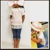 マリンなTシャツ着用画像♡の画像
