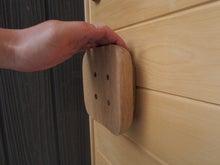 木の把手/玄関ドア/オリジナル/手にフィット