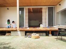 庭/縁側/ウッドデッキ/リビング/陽当たり