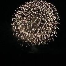 花火を見る。相方