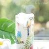 トロピカル柄のキャンドルの画像