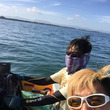 日曜の琵琶湖