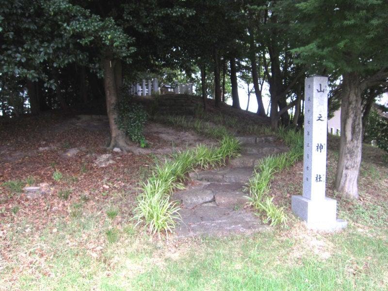 吉根城/④山之神社