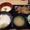 牛カルビ定食presented by吉野家。の画像