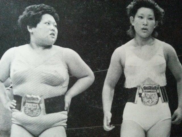 全日本女子プロレス 黄金伝説タッグの名手 赤城マリ子コメント