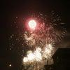 昨夜は花火祭り。の画像