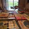 夏休み企画!絵本とパステルアート遊び空間の画像