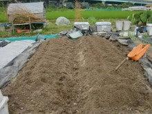 150728たまねぎ苗床土作りと太陽熱消毒処理18