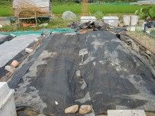 150728たまねぎ苗床土作りと太陽熱消毒処理20