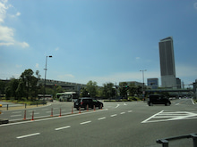 JR岐阜駅遠望