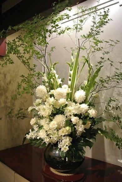銀座うかい亭 個室花
