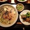 表参道☆大かまど飯寅福 期間限定「まぐろの冷や汁定食」の画像