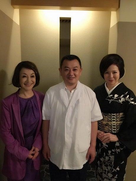銀座小十 南美希子さん&奥田透店主&由美ママ