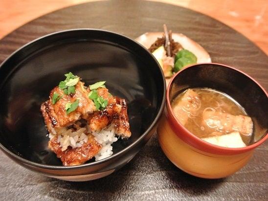 銀座小十 琵琶湖の天然大鰻ご飯