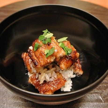 銀座小十 琵琶湖の天然大鰻ご飯2