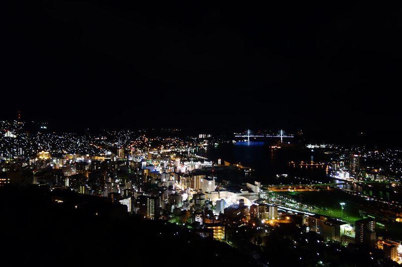 世界新三大夜景/長崎市のにっしょうかん梅松鶴