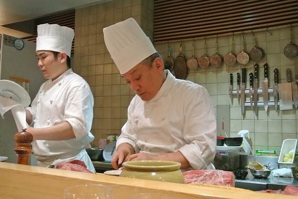 日本橋 西洋料理 島 大島学オーナーシェフ