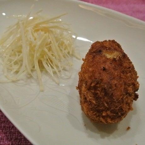 日本橋 西洋料理 島 毛蟹100%コロッケ