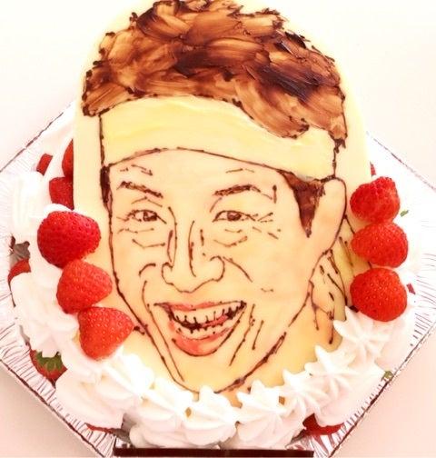 松岡修造のイラストデコレーションケーキ ケーキショップ アンクルサム
