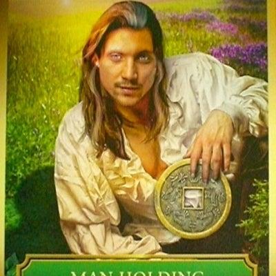 今日のカード★Man Holding A Coin★の記事に添付されている画像