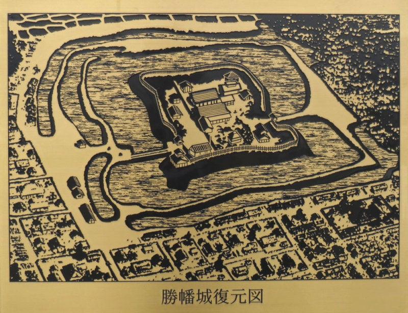 勝幡城/④復元図