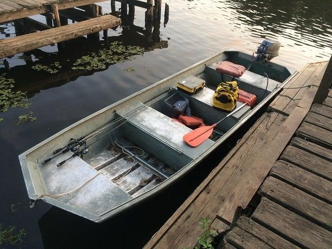 真夏のレンタルボート釣行 (テキサス州キャドー・レイク)の記事より