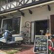自転車にある駄菓子屋