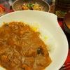 カレーライス定食の画像