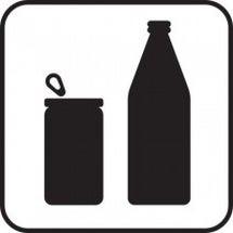 ペットボトルと缶飲料…