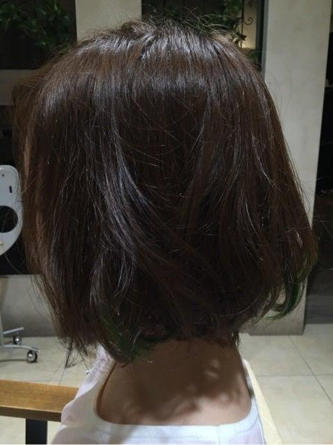 ポイントカラー緑 Lee枚方店 光太朗のブログ