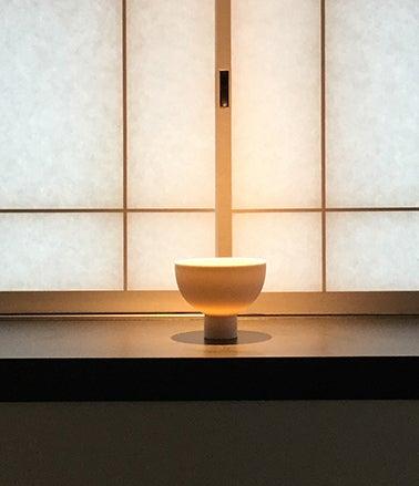丸田秀三「白磁碗」