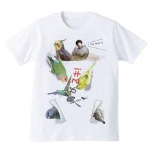 インコまみれTシャツ