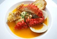 花咲蟹と魚貝のスープ仕立て