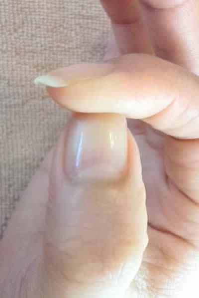 綺麗になった爪